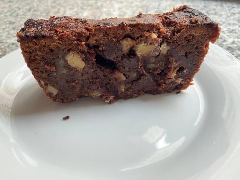 Brownie receta con frutos secos fácil económica