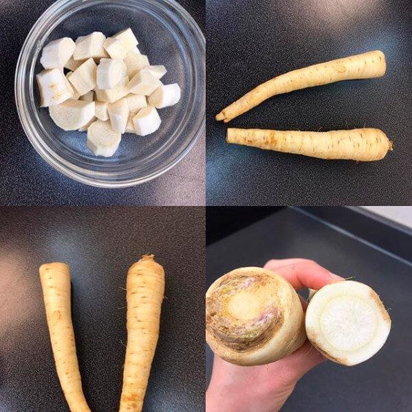Verduras raras parte I ¿Comer la raíz de perejil?