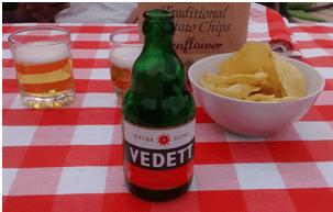 Cervezas belgas: Vedett y Gouden Carolus Classic