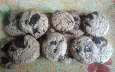 Receta Cookies caseras